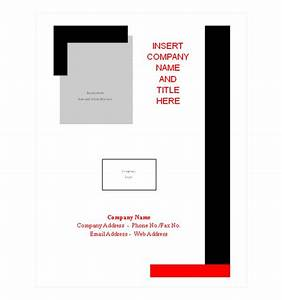 professional report cover page template wwwpixsharkcom With cover page template