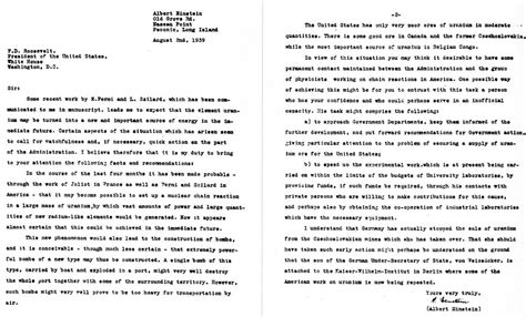 the einstein szilard letter 1939 atomic heritage einstein szilard letter how to format cover letter 37481