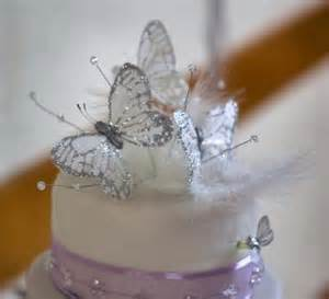 wedding cake toppers initials butterfly wedding cakes