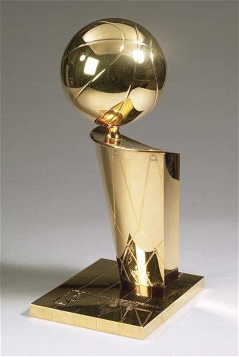 nba championship trophy larry  brian trophy  inches