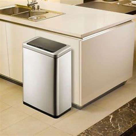 kitchen island with garbage bin white large kitchen trash cans with lids garbage