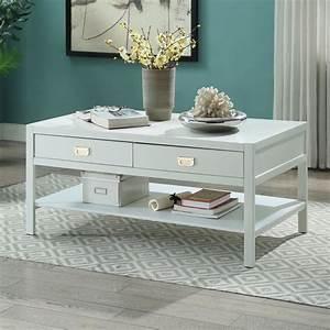 Linon, Peggy, Coffee, Table, Two, Drawers, One, Shelf, Multiple, Colors, -, Walmart, Com