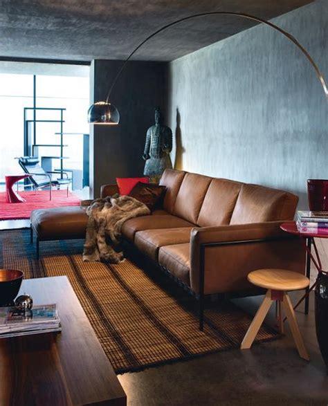 wohnzimmer graue wand wohnen mit farben betongrau zu warmen braunt 246 nen bild 19 sch 214 ner wohnen
