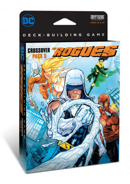 Dc Deck Building Expansion Release Date by Dc Deck Building Crossover Pack 5 The Rogues The