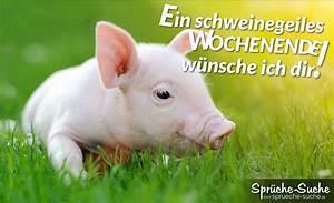 Bilder Zum Wochenende : spruchbild ein schweinegeiles wochenende w nsche ich dir spr che suche ~ Udekor.club Haus und Dekorationen