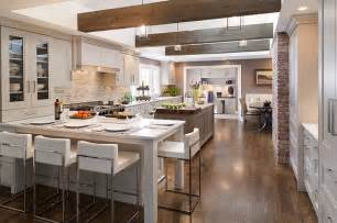 rustic modern kitchen ideas rustic modern modern kitchen cleveland by davinci floors granite