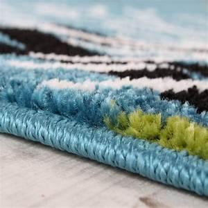 Teppich Grün Türkis Blau : kinderteppich clown fisch aqua kinderzimmer teppich in t rkis gr n creme pink ebay ~ Markanthonyermac.com Haus und Dekorationen