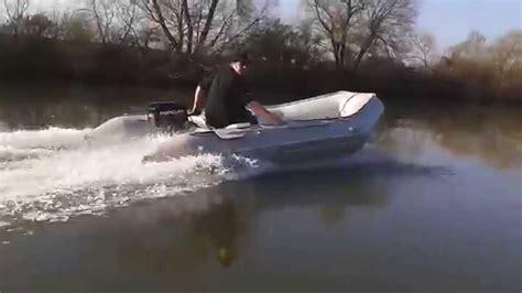 schlauchboot quicksilver qs 430 sport mit mercury 15 ps aus 180 m sprint