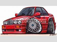 BMW E30 325 Red