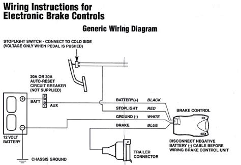 Tekonsha Voyager Xp Wiring Diagram by How To Install A Brake Controller In Aurion Camry Using