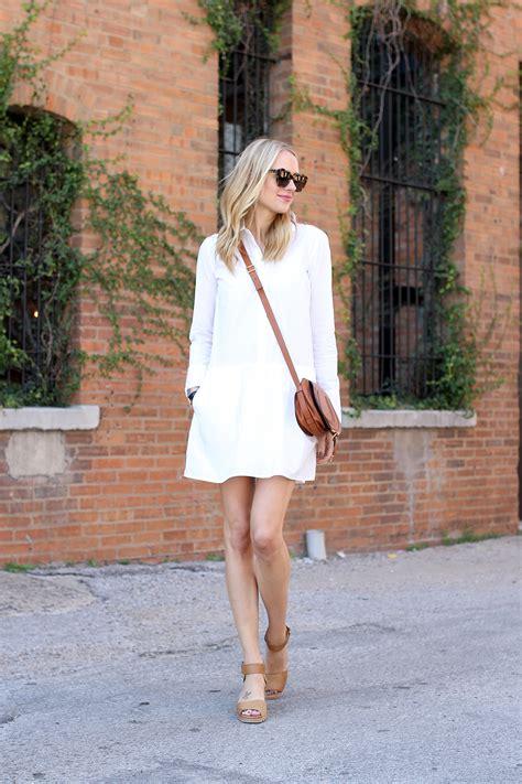 white shirt dress fashion jackson