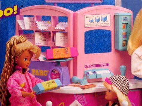 Barbie So Much To Do Post Office Playset (1995 Arcotoys
