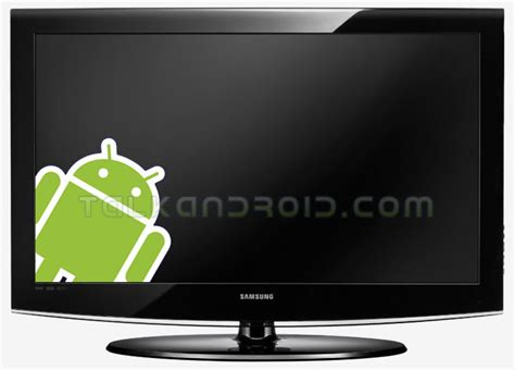 samsung android tv samsung may use android software in their future tvs