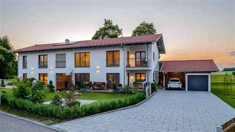 ᐅ Zweifamilienhaus Bauen Häuser, Anbieter & Preise