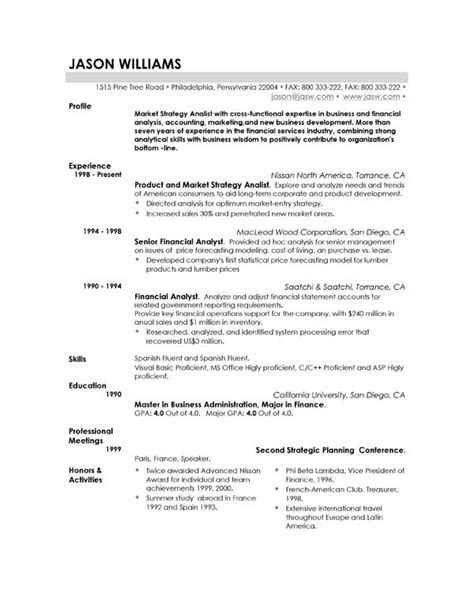 What Makes A Resume by Resume Exles Exle Of Resume By Easyjob The Best Free Exle Resumes In A Single Place