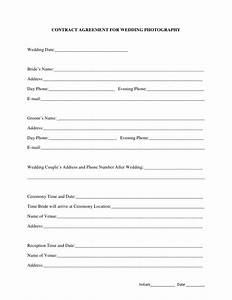 contract agreement for wedding photography With wedding photography contract pdf