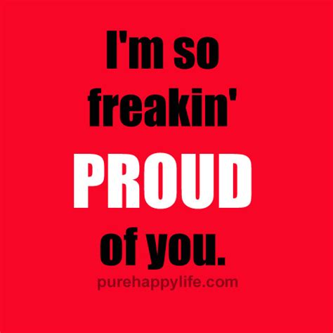 Im So Proud Of You Son Quotes