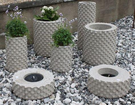 basteln mit zement inspiration www jennysbetongkonst se succulents lichterfest deko aus beton