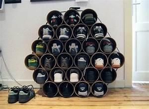 Ideen Für Schuhschrank : selbermachen 35 coole schuhaufbewahrung ideen tolle idee pinterest schuhaufbewahrung ~ Markanthonyermac.com Haus und Dekorationen
