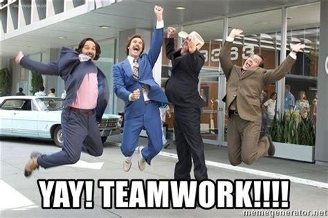 Teamwork Meme - hollychester