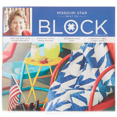 missouri quilting company deal of the day block magazine summer 2014 vol 1 issue 3 msqc