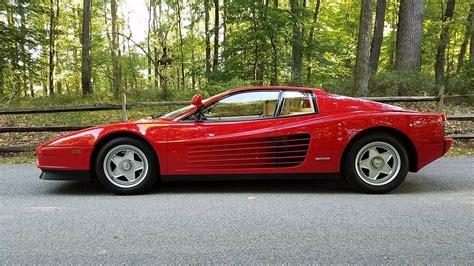 1986 Ferrari Testarossa For Sale 1881435 Hemmings Motor