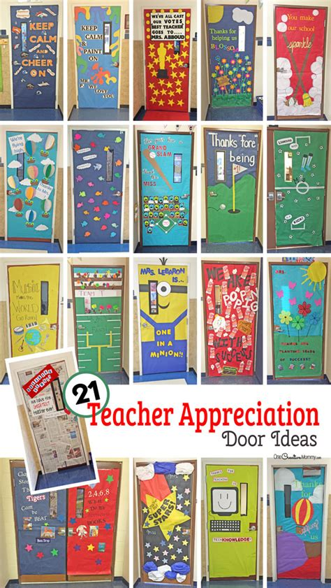 awesome teacher appreciation door ideas