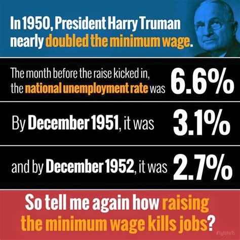 Minimum Wage Meme - truman and the minimum wage the meme policeman