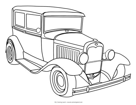 Cars My Coloring Land