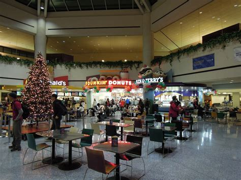Newark Terminal C Food Court You Know Youre Out East