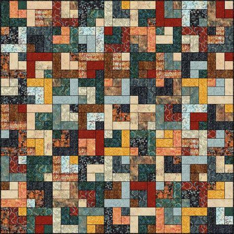 Log Cabin Quilt Patterns 99 Best Log Cabin Quilt Patterns Images On