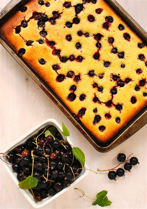cuisine polenta lemon berry polenta cake food to glow