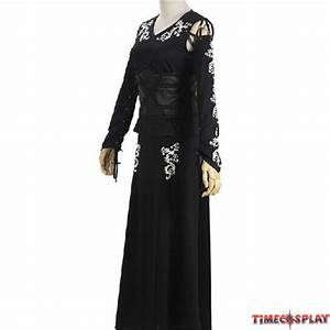 Harry Potter CosplayBellatrix Bella Lestrange Black Dress ...