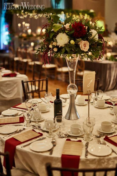 Red & Gold Fall Wedding Theme ElegantWedding ca