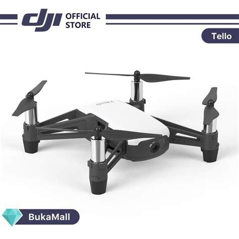 jual dji tello quadcopter drone  hd camera  vr powered  dji technology  intel