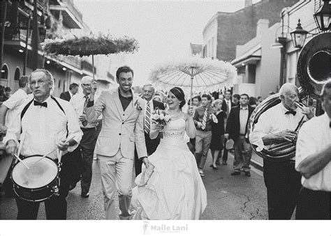 New Orleans Wedding Second Line New Orleans And Nashville