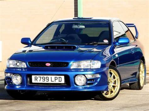 1998 Subaru Impreza 2.0 Wrx Sti Type-r 2-door Coupe