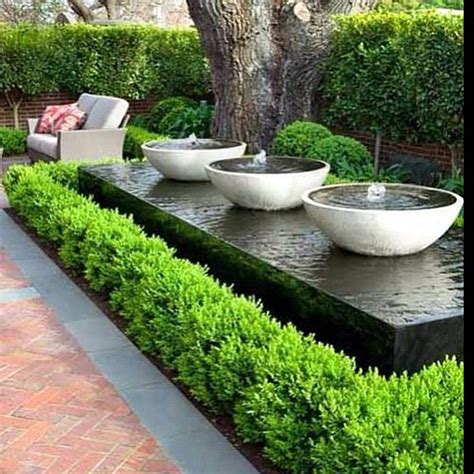 backyard water fountains modern waterfall ideas that will leave you speechless
