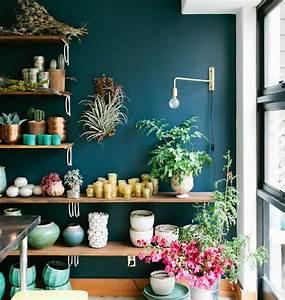 Vase Bleu Canard : 1001 conseils et id es comment adopter la couleur bleu p trole en d co ~ Melissatoandfro.com Idées de Décoration