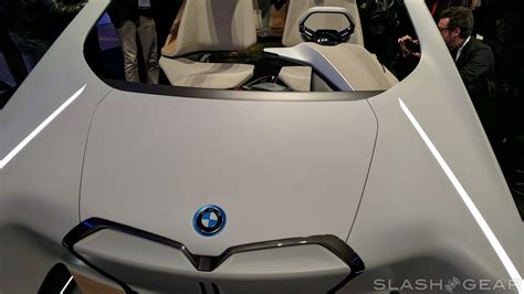 Bmw I Inside Future Concept Makes The Dashboard A Tactile