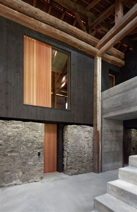 Stall Umbauen Wohnhaus by Gasser Derungs Umbau Stall Zu Wohnhaus Im Stall
