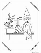 Elf Coloring Shelf Printable Boy Io Imagesvc Meredithcorp Excited Inspired Parents Elves Inventive Ways Children sketch template