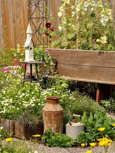 Country Rustic Garden Ideas Photograph
