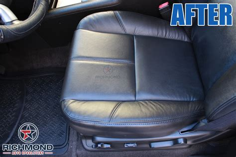 richmond auto upholstery 2007 2011 gmc denali leather seat cover driver