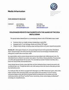 2016 volkswagen beetle denim press release With app press release template