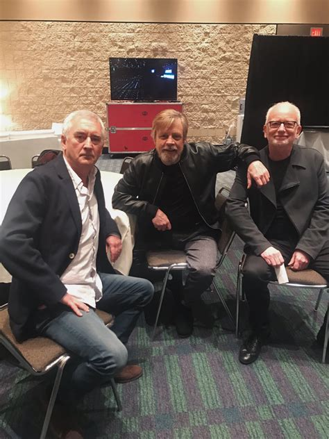 Great catching up w/longtime pals @ : john williams-harrison ford-denis lawson-ian ...