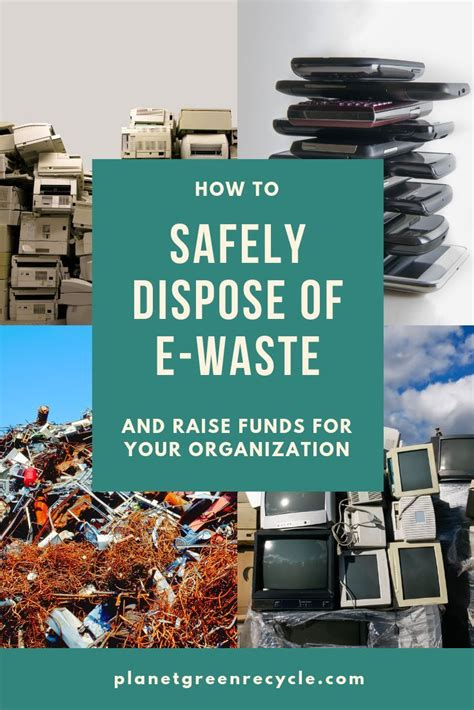 waste recycling  practices   safely dispose