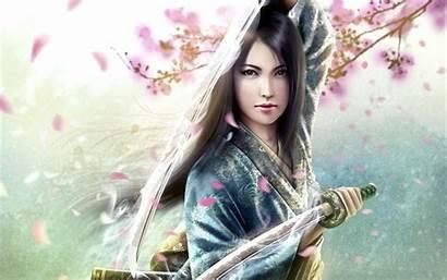Samurai Female Wallpapers Wallpapersafari