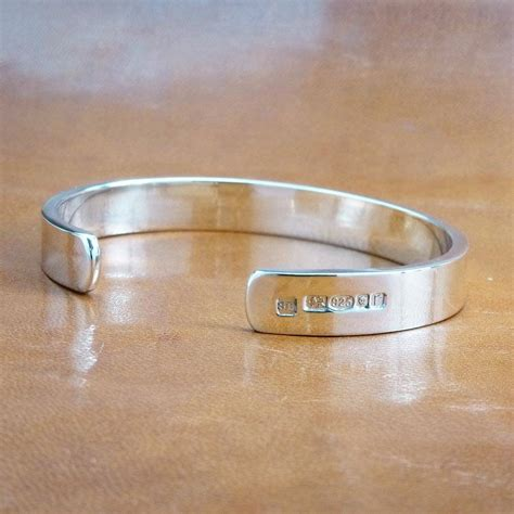 Men's Solid Silver Bracelet Hand Made By Hersey. 35mm Watches. Swat Watches. Cool Bracelet. Deer Wedding Rings. Red Bracelet. Heart Shaped Rings. Women's Anklet Jewelry. Bangle Charm Bracelets