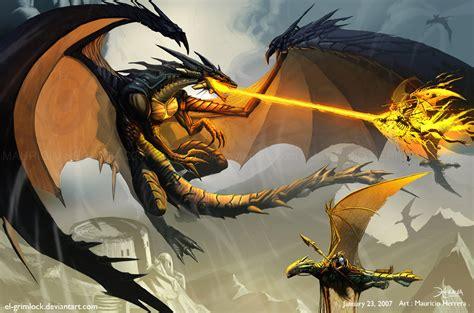 black dragon attack by el grimlock on deviantart